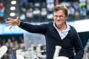 Arno Del Curto ist nach 22 Jahren nicht mehr Trainer des HC Davos. (Bild: Alexandra Wey/Keystone (Zug, 23. September 2017))