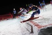 Courchevel veranstaltete in der letzten Saison den ersten Parallel-Slalom, in diesem Jahr ist St. Moritz dran. (Bild: Gabriele Facciotti/AP (Courchevel, 20. Dezember 2017))