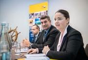 Die neue Vorsitzende Carmen Haag. (Bild: Reto Martin)