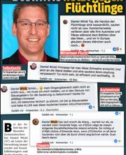 Screenshots von Wickis Posts im «Blick». (Screenshot Blick)
