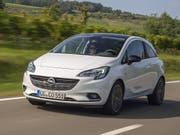 Opel bringt den Kleinwagen Corsa auch mit Elektromotor. (Bild: Opel)