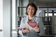 «Wenn Kinder betroffen sind, geht mir das immer nahe», sagt OhO-Vereinspräsidentin Nadine Knecht. (Bild: Hanspeter Schiess)