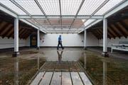Der Spazierhof des Gossauer Untersuchungsgefängnisses. (Bild: Benjamin Manser)