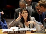 Niederlage für Nikki Haley: Eine Resolution, in der die Hamas wegen ihrer Raketenangriffe auf Israel verurteilt wird, fand in der Uno-Vollversammlung keine Mehrheit. (Bild: KEYSTONE/AP/SETH WENIG)