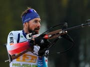 Gutes Rennen mit nur einem Schiessfehler: Benjamin Weger (Bild: KEYSTONE/EPA/ANTONIO BAT)