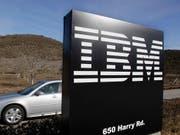 IBM verkauft Teile seines Software-Geschäfts an das indische Unternehmen HCL. (Bild: KEYSTONE/AP/Paul Sakuma)