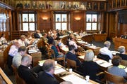 Voraussichtlich im Februar 2019 wird der Kantonsrat die Initiative behandeln, Bild: Jesko Calderara (cal)