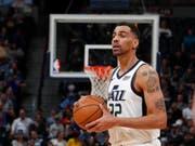 Thabo Sefolosha und die Utah Jazz nehmen Fahrt auf (Bild: KEYSTONE/AP/DAVID ZALUBOWSKI)