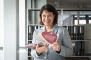 Nadine Ringer Knecht, Präsidentin des Hilfsvereine Ostschweizer helfen Ostschweizern. (Bild: Hanspeter Schiess)