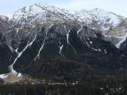 In dieser Region in Graubünden kam der Mann zu Tode. Die genauen Umstände sind nicht bekannt. (Bild: Kapo GR)