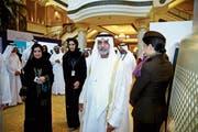 Seit 2016 ist der 67-jährige Scheich Nahyan bin Mubarak «Minister für Toleranz» der Vereinigten Arabischen Emirate. (Bild: Francois Nel/Getty; Abu Dhabi, 4. Mai 2015)