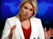 US-Präsident Donald Trump will laut Medienberichten die Ex-Fernsehmoderatorin und Sprecherin des US-Aussenministeriums Heather Nauert zur neuen Uno-Botschafterin der USA machen. (Bild: KEYSTONE/AP/ALEX BRANDON)