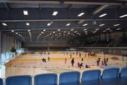 Sorgen die tiefen Temperaturen in der Eishalle im Bergholz für leere Zuschauerränge?Bild: Nicola Ryser