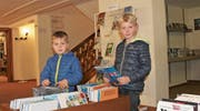 Der Verein Bibliothek Reburg hat den Anspruch, Kinder und Jugendliche noch zahlreicher und stärker an die Einrichtung zu binden. (Bild: Gert Bruderer)