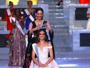 Von der Vorgängerin gekrönt: Die Mexikanerin Vanessa Ponce de Leon ist neue «Miss World». (Bild: missworld.com)