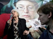 Die russische Menschenrechtlerin und Kremlkritikerin Ljudmila Alexejewa ist tot. Sie starb nach schwerer Krankheit im Alter von 91 Jahren in Moskau. (Bild: KEYSTONE/EPA/SERGEI CHIRIKOV)