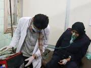 Die USA werfen Russland und Damaskus vor, einen Chlorgasangriff in Aleppo im November vorgetäuscht und den angeblichen Ort selbst kontaminiert zu haben, um es den Rebellen in die Schuhe schieben zu können. (Bild: KEYSTONE/AP SANA)