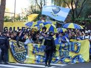 In Madrid soll es keine Fan-Krawalle geben (Bild: KEYSTONE/AP/ANDREA COMAS)