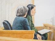Staatsantwalt: Der Finanzchefin des chinesischen Technologieriesen Huawei, Meng Wanzhou, droht im Falle einer Auslieferung in die USA eine jahrzehntelange Haftstrafe. (Bild: KEYSTONE/AP The Canadian Press/JANE WOLSAK)
