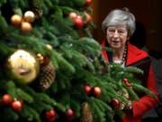 Brexit-Niederlage wird immer wahrscheinlicher: die britische Premierministerin Theresa May. (Bild: KEYSTONE/AP/KIRSTY WIGGLESWORTH)