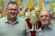 Konrad Schelbert (links) und Andreas Pfister
