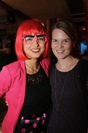 Magdalena Klaus und Myrella Mathis feiern und engagieren sich im Verein «Confidance».