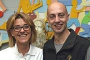 Erika Kost und Sven Zurmühle