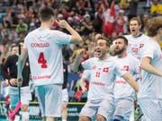 Die Schweizer schliessen die WM in Prag versöhnlich ab (Bild: KEYSTONE/FABIAN TREES)