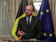Will trotz Widerstand zur Unterzeichnung des Uno-Migrationspakts nach Marrakesch reisen: Belgiens Ministerpräsident Charles Michel. (Bild: KEYSTONE/EPA/STEPHANIE LECOCQ)