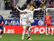 Gareth Bale war Reals Torschütze beim knappen Sieg gegen den Tabellenletzten Huesca (Bild: KEYSTONE/AP/ALVARO BARRIENTOS)