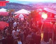 Szene vom Techno-Open-Air Himmelrich 2016. (Bild: Facebook)