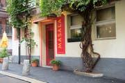 Der Eingang des Restaurants Masala. (Bild: www.reginadepaolis.ch)