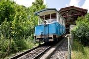 Die Sonnenbergbahn fährt ab dem 14. April wieder täglich bis zum 1. November auf den Berg. (Bild: Manuela Jans (Kriens, 9. Juli 2015))