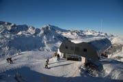 Die Skisaison wird auf dem Gemsstock erst am 19. November eröffnet. (Bild: pd/Martin Wabel/Skiarena Andermatt-Sedrun)