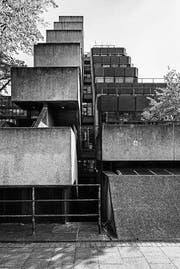 Institute of Education, London, 1970–1976. Konzipiert von Denys Lasdun. (Bild: Simon Phipps/Museum im Bellpark)