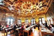 Im Stadtparlament dürften im 2017 die Meinungen - wie auch die politischen Prioritäten - erneut auseinander gehen. (Symbolbild Eveline Beerkicher (Luzern / 19. Mai 2011))