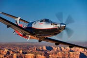 Der Pilatus PC-12 NG unterwegs in den USA. (Bild: Pilatus Aircraft Ltd)