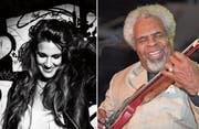 Estella Benedetti und Classie Ballou sind zwei der Gäste am diesjährigen Lucerne Blues Festival. (Bilder PD)