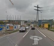 Die Reusseggstrasse mit Blickrichtung Seetalplatz. (Bild: Google Street View)