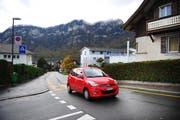 Auf der Pilatusstrasse in Hergiswil gilt zukünftig Tempo 30. (Bild: Corinne Glanzmann / Neue NZ)