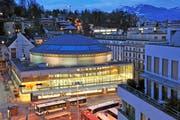 Nach 15 Jahren müssen Teile des Gebäudes des Bourbaki Panoramas in Luzern saniert werden. (Bild: Archiv Neue LZ)
