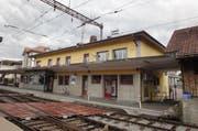 Luzern soll etwas über neun Millionen an die Sanierung des Bahnhofs Huttwil beisteuern. (Bild: BLS)