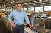 Adrian Steiner, CEO und Verwaltungsrat der sehr schweizerischen und doch kosmopolitischen Thermoplan AG in Weggis.