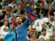Lionel Messi ist laut seinem Trainer Luis Enrique schlicht «der beste Spieler der Geschichte». (Bild: Susana Vera/Reuters (Madrid, 23. April 2017))