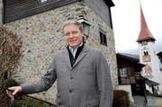 Markus Frösch ist die Gemeinde Bürglen ans Herz gewachsen. Nun präsidiert er den Gemeinderat. (Bild: Urs Hanhart / Neue UZ)