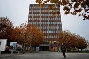 Heute hat sie ihren Sitz im Turm an der Rüeggisingerstrasse 22. (Bild: Eveline Beerkircher / Neue LZ)