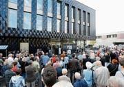 Das Gemeindezentrum Dreiklang feierte am 30. September die Eröffnung. (Bild: Stefan Kaiser (Steinhausen))