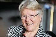 Interview mit Judith Stamm zum Thema 40 Jahre Frauenstimmrecht am 6. Januar 2011 im Hotel Schweizerhof in Luzern. (Neue LZ/Eveline Beerkircher) (Bild: Eveline Beerkircher (Luzern, 6. Januar 2011))