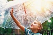 Den Regen spüren: Wahrnehmung ist individuell und baut auch auf den eigenen Erfahrungen auf. (Bild: iStock)