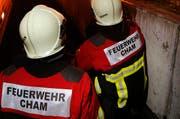 Die Feuerwehr Cham musste am Mittwochabend zu zwei Einsätzen innert 14 Minuten ausrücken. (Symbolbild) (Bild: Stefan Kaiser / ZZ)